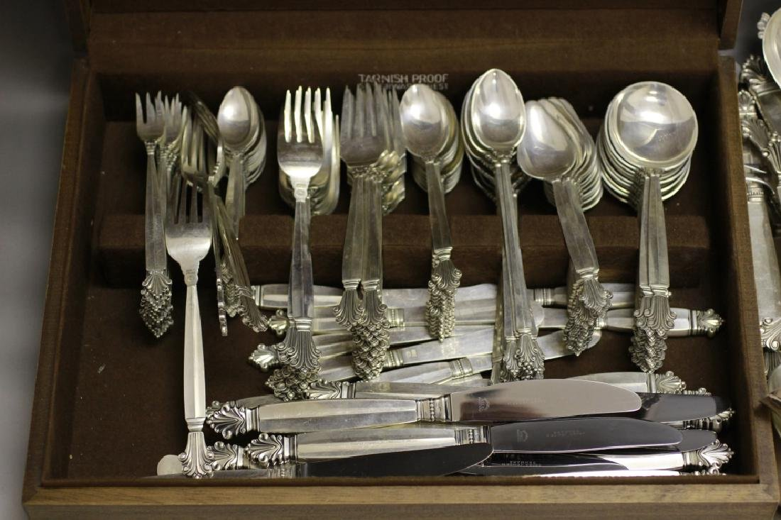 Georg Jensen Large Silver Cutlery Service for 12 - 2
