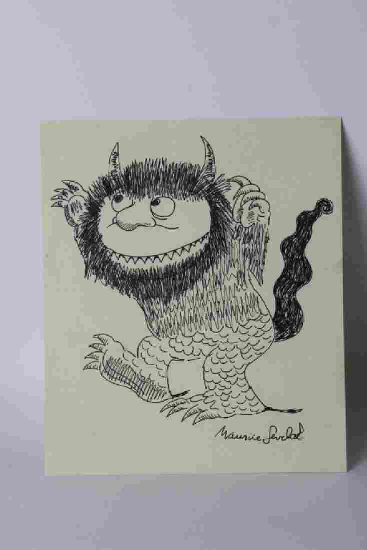 Maurice Sendak Monster,  Attribution