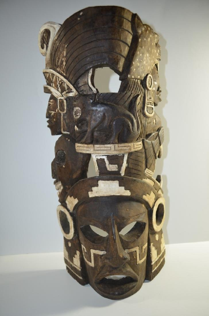 African Wood Carving Mask
