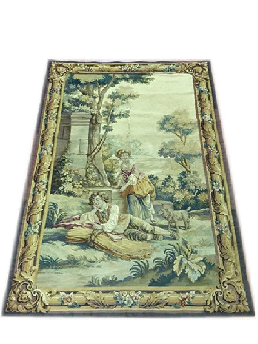 Late19c, Early 20thc French Aubusson Tapestry