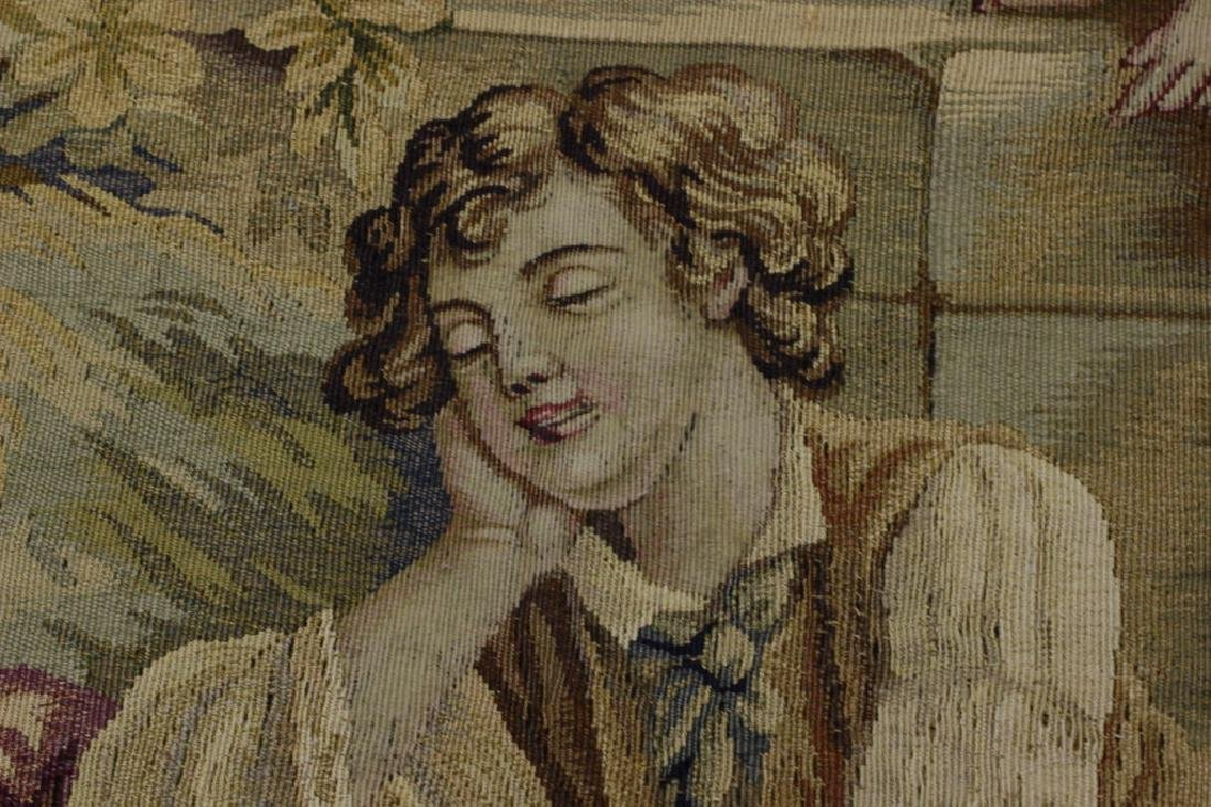 Late19c, Early 20thc French Aubusson Tapestry - 2