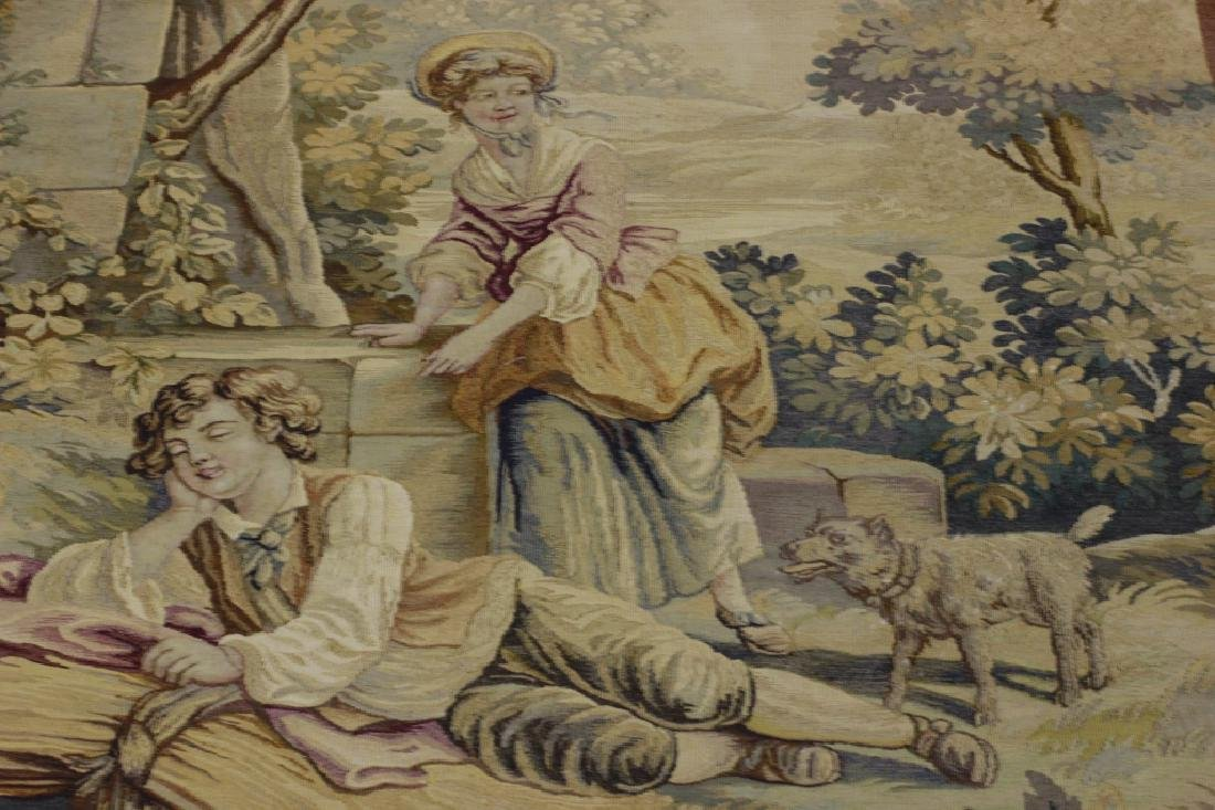 Late19c, Early 20thc French Aubusson Tapestry - 3