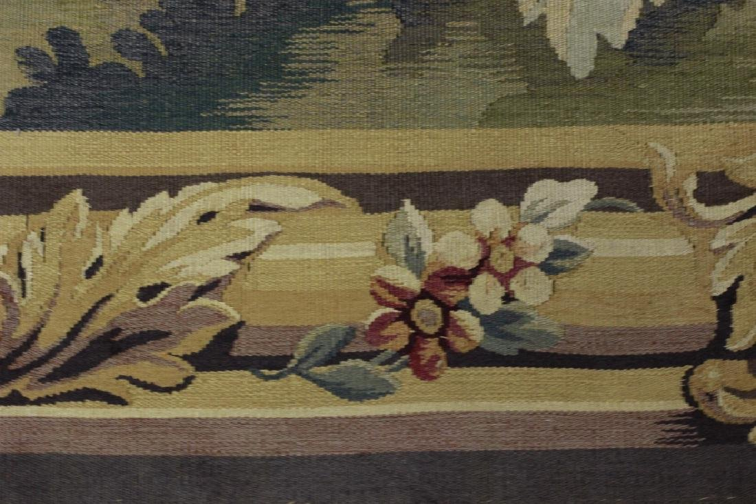 Late19c, Early 20thc French Aubusson Tapestry - 4