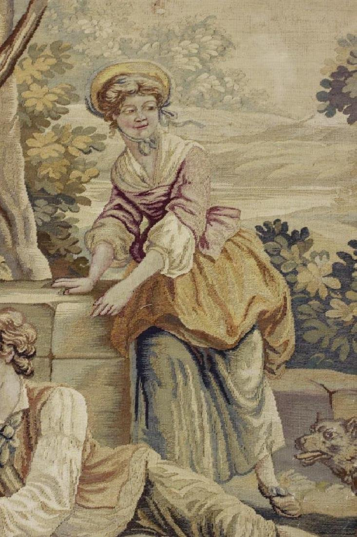 Late19c, Early 20thc French Aubusson Tapestry - 7