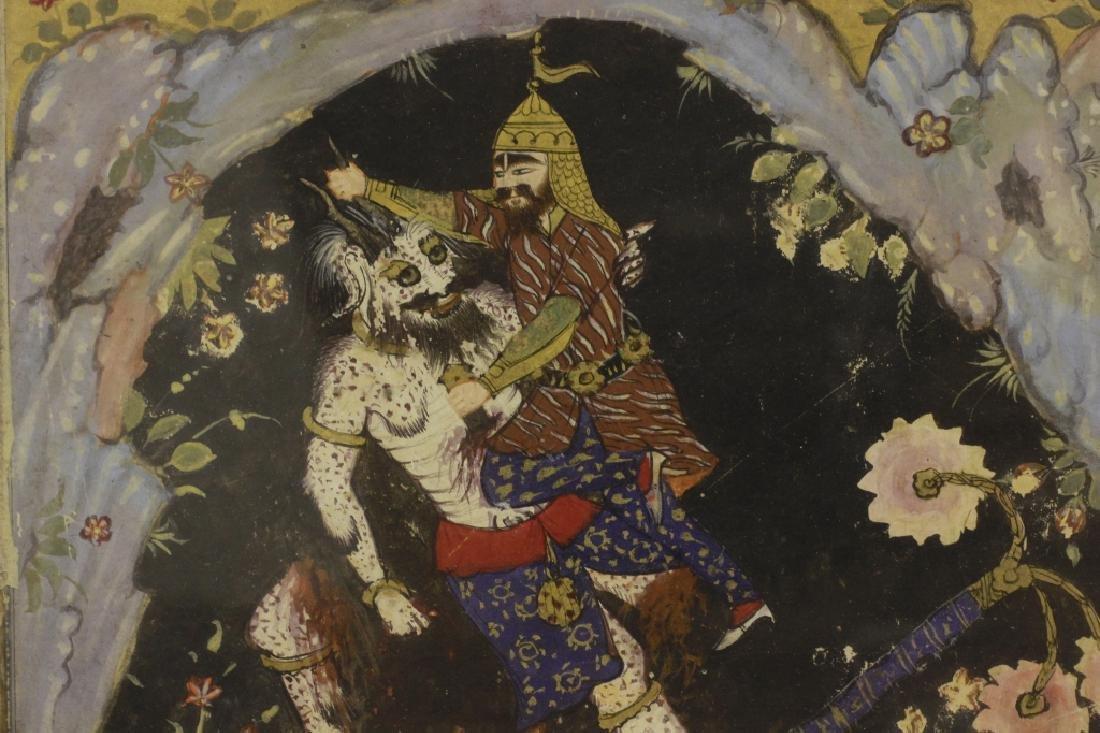 16c Persian Safavieh Miniature Shahnameh - 9