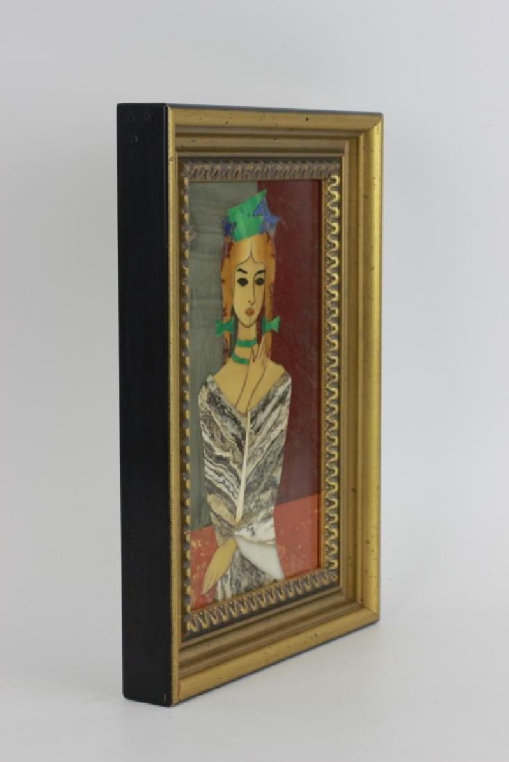 Italian Pietra Dura Plaque By G. Ugolini - 11