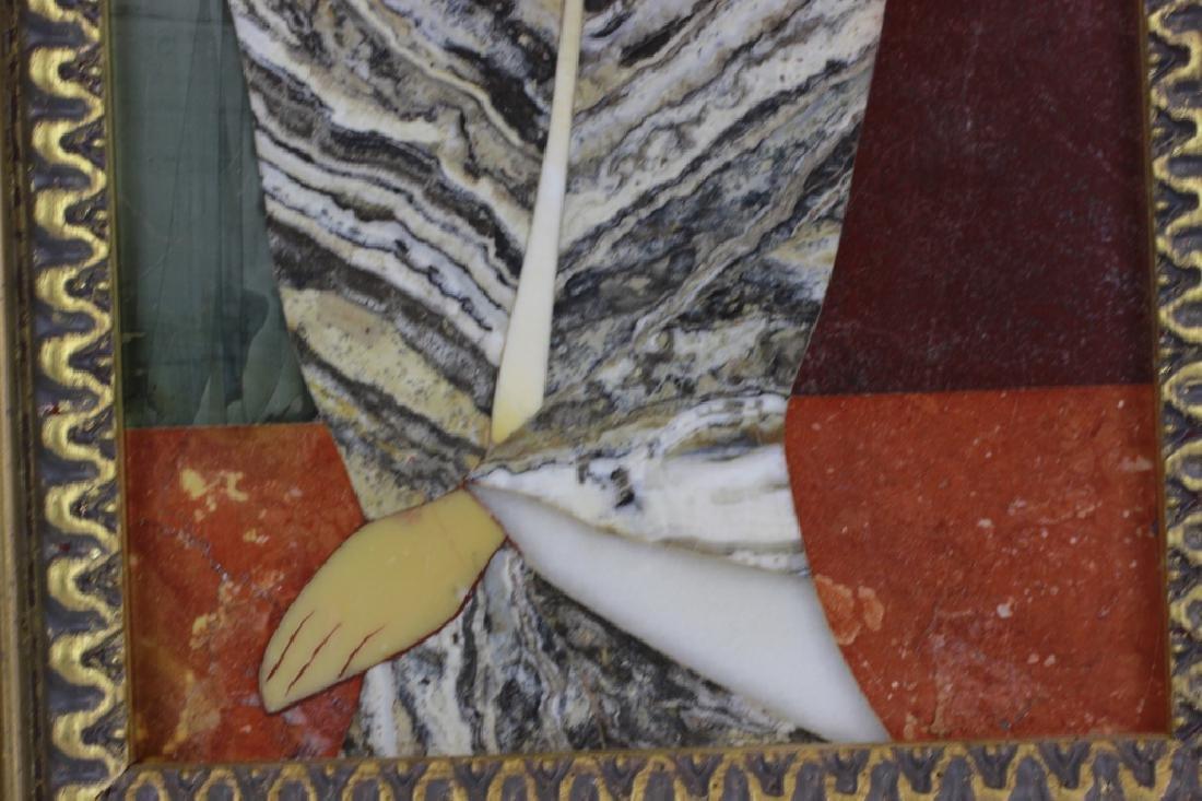 Italian Pietra Dura Plaque By G. Ugolini - 4