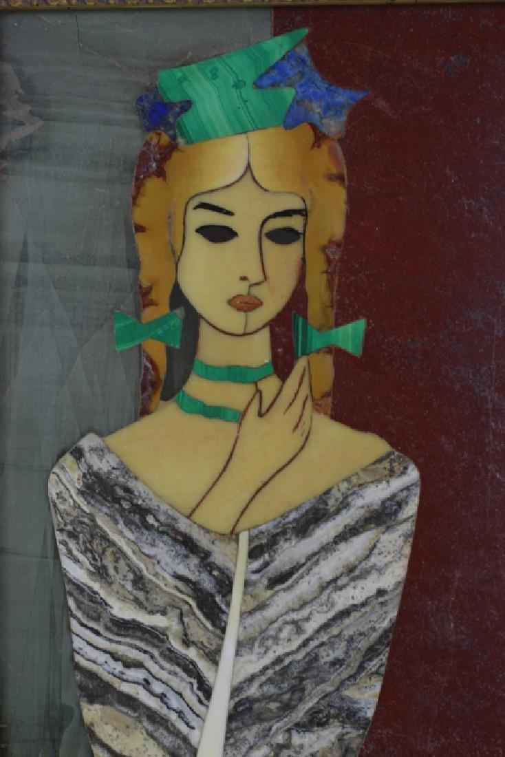 Italian Pietra Dura Plaque By G. Ugolini - 6