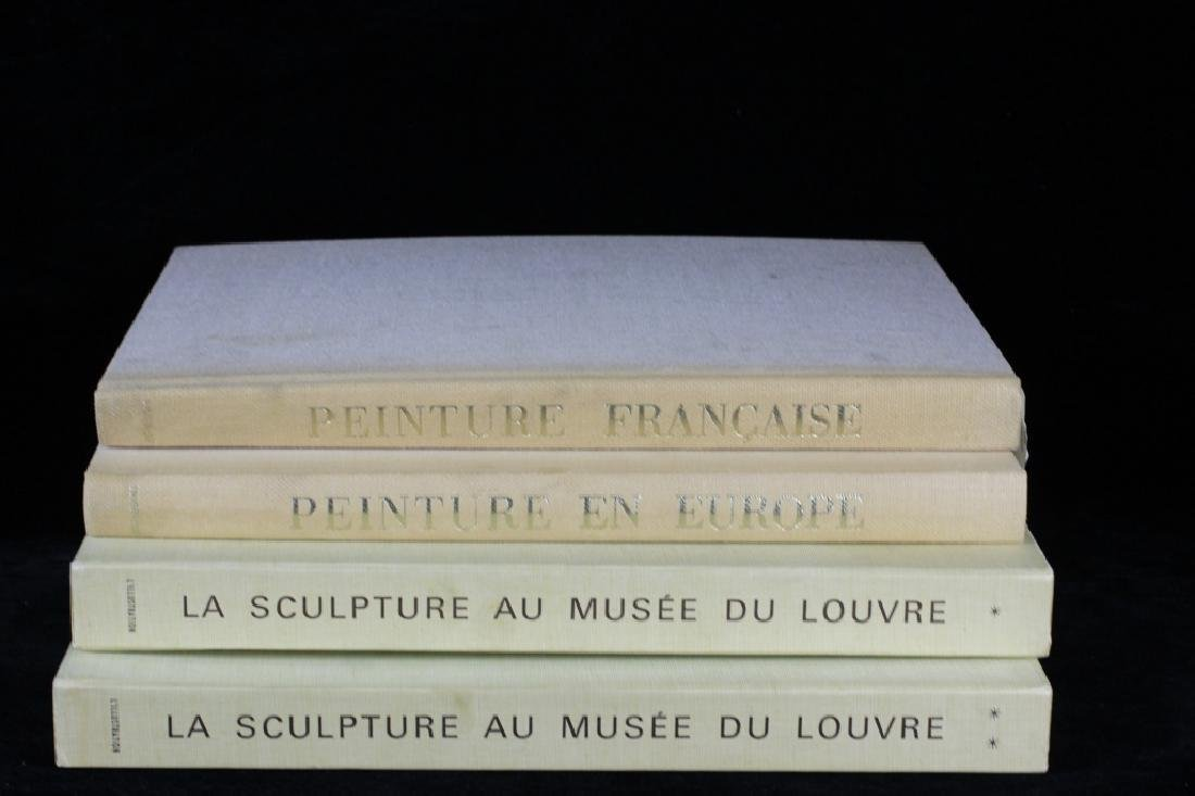 Four Old Books Louvre Museum .