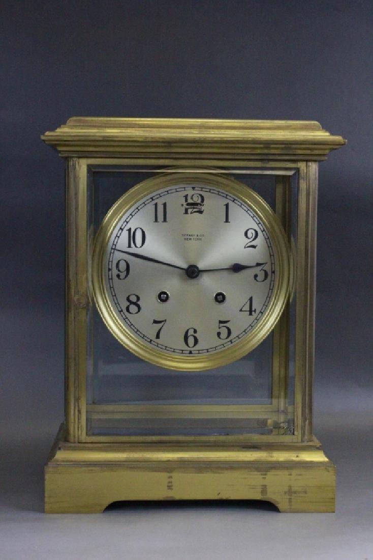 Tiffany Large Clock W/ Original Key