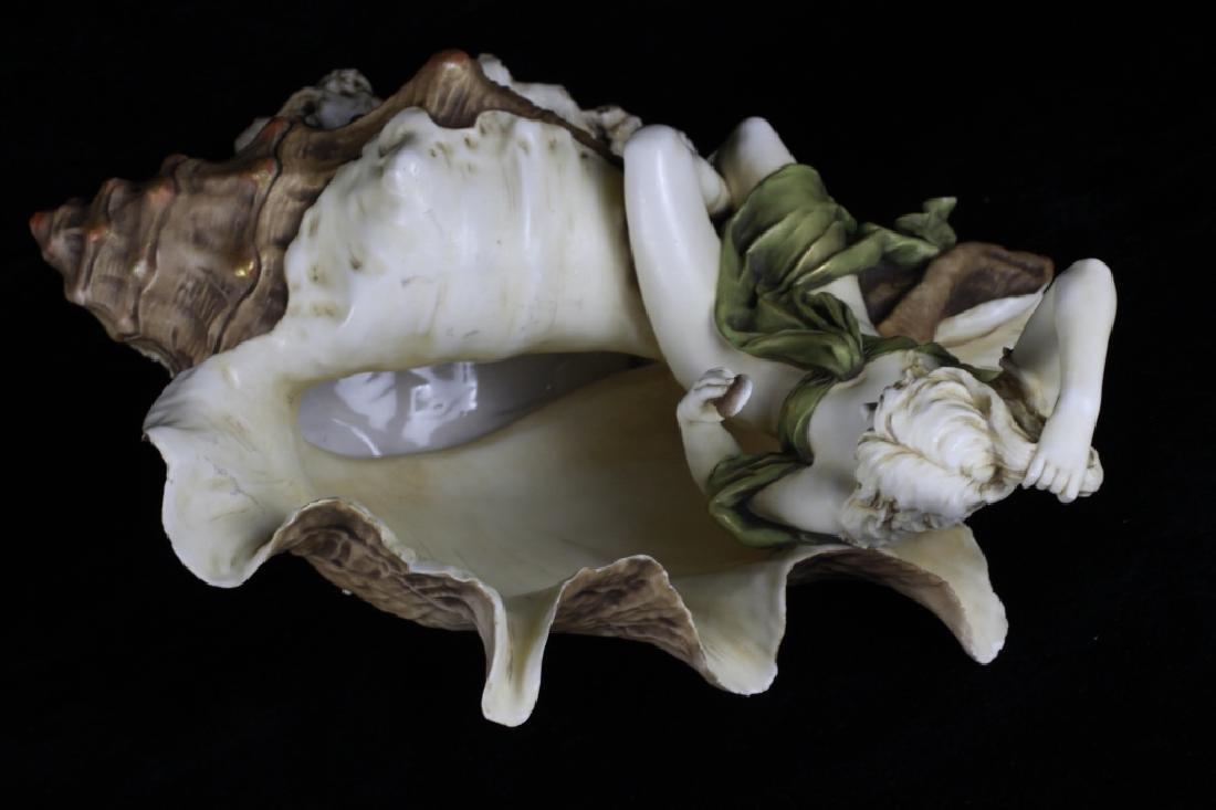 Rare Royal Dux Figural Centerpiece - 6