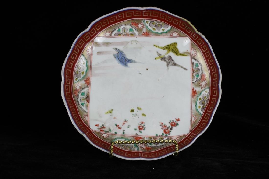 Japanese 19thc, Porcelain Plate