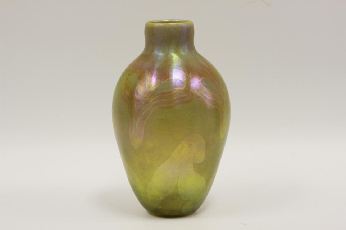 Large L.C. Tiffany Vase, Signed L.C.T.