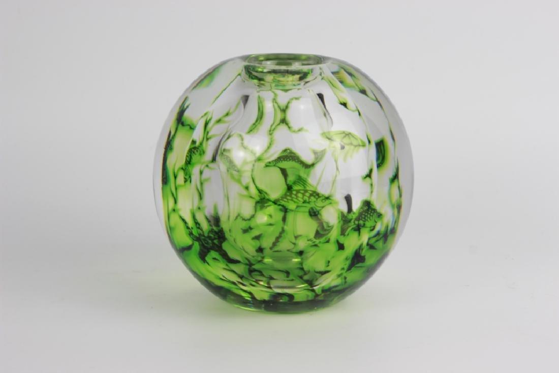 Orrefors Graal Vase By Edword Hald - 3