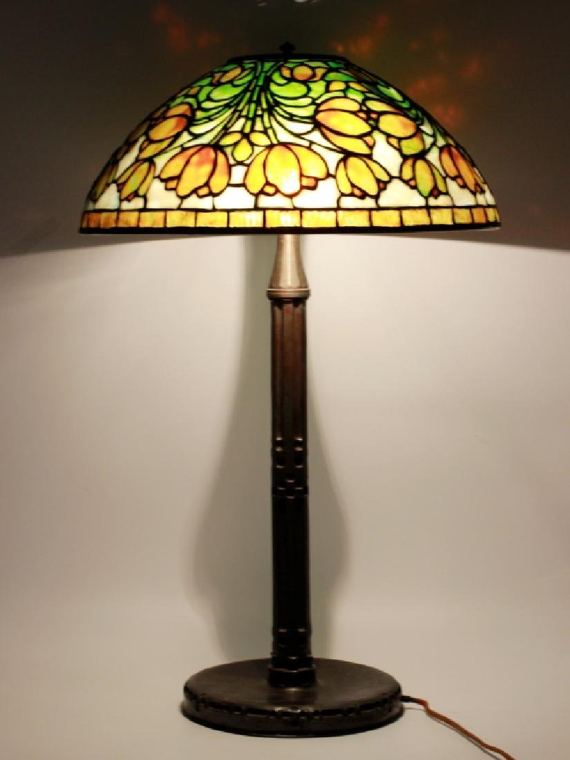 Tiffany Studios Leaded Glass Table Lamp