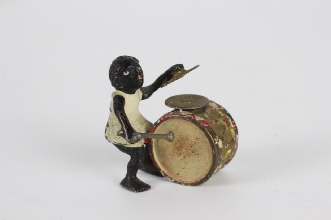 Rare Miniature African  American Vienna Bronzes - 4