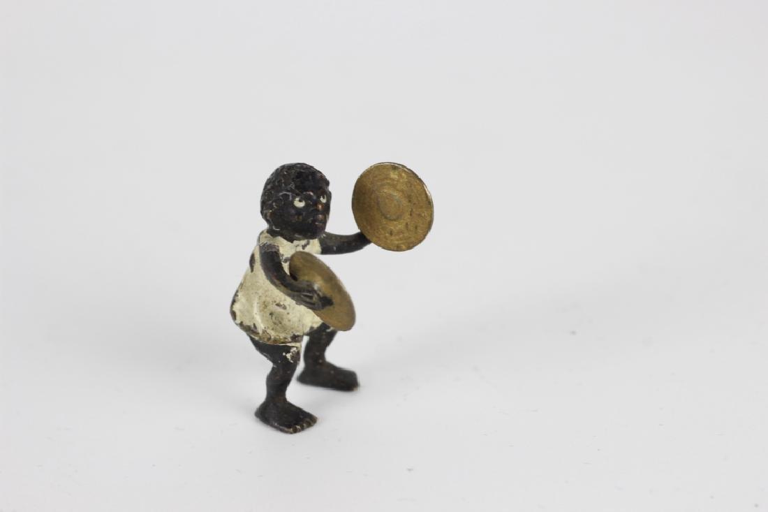 Rare Miniature African  American Vienna Bronzes - 5