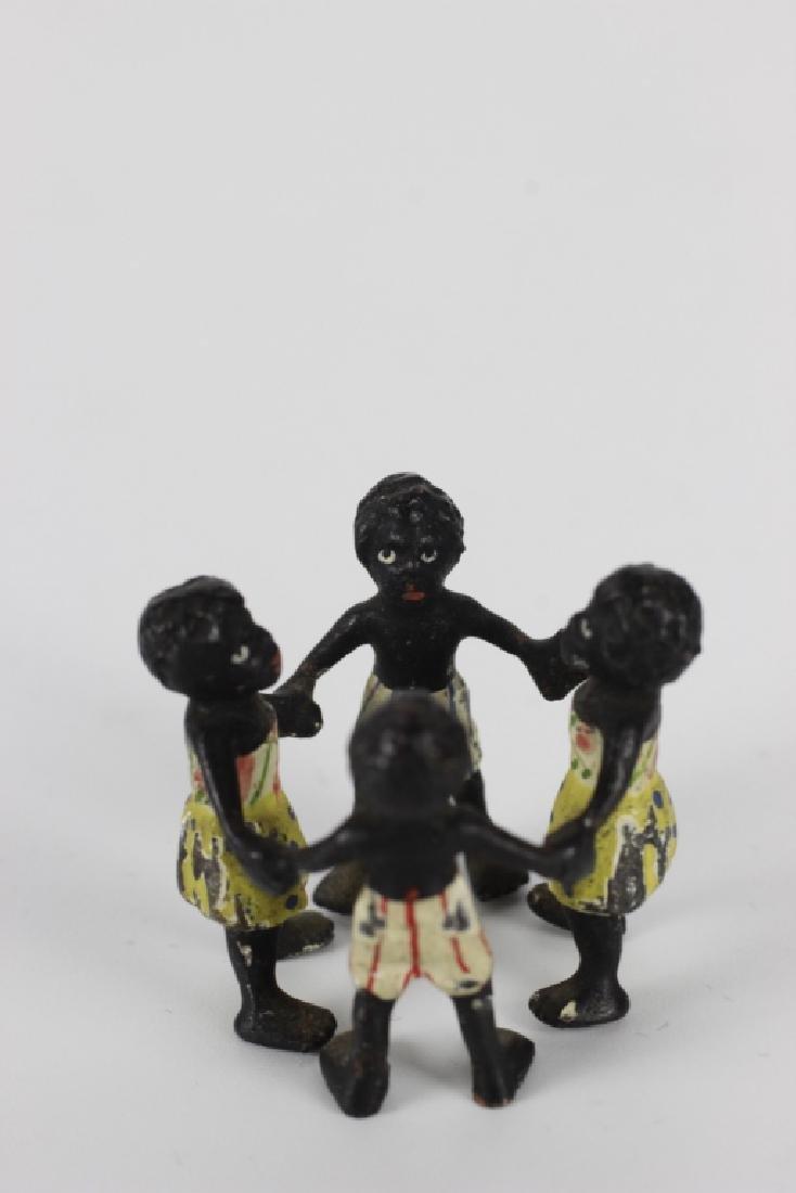 Rare Miniature African  American Vienna Bronzes - 6