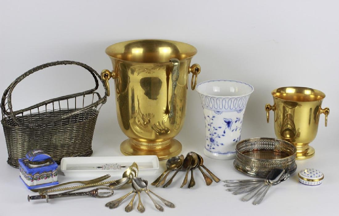 A Lot Of 9 French & English Items For Entertaining
