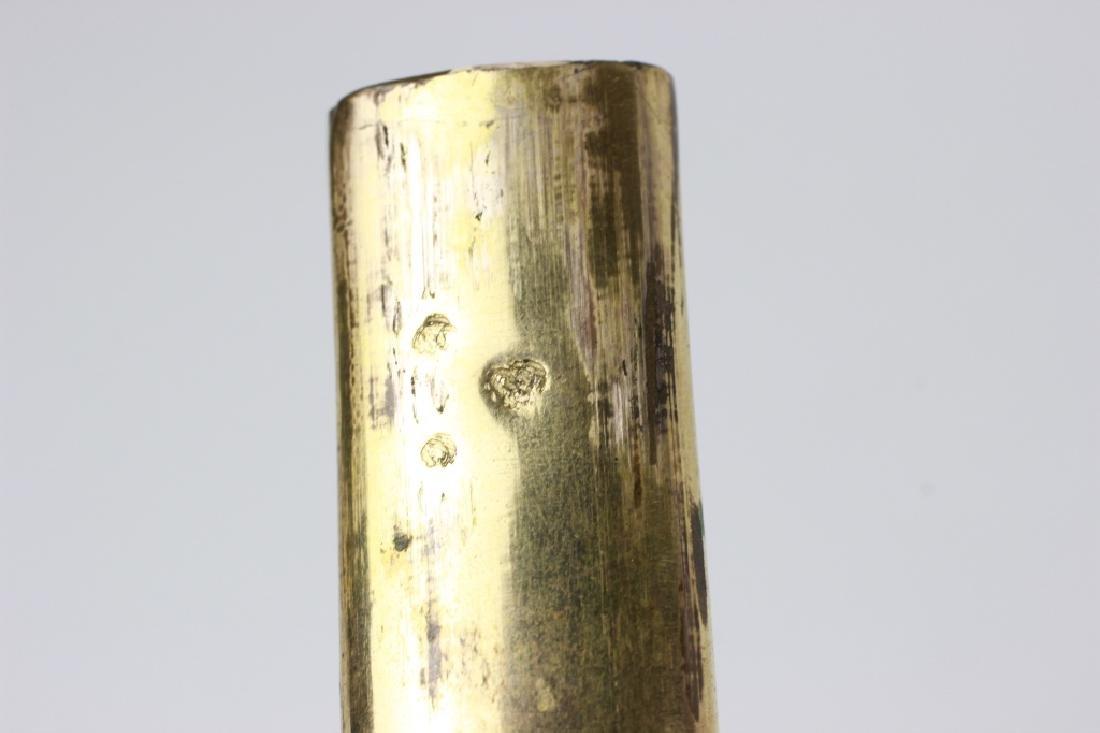 18thc French Enameled Etui. Probably 10k Gold - 8