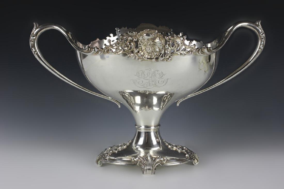 Sterling Silver Black Star & Frost Centerpiece