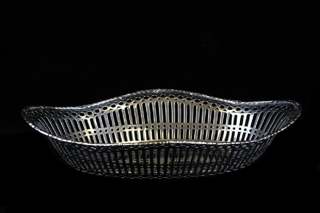 Reticulated German Silver Bowl By Posen
