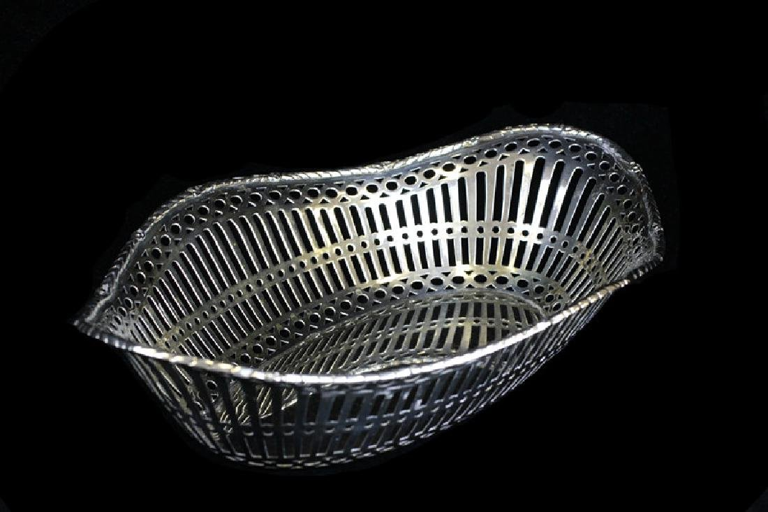 Reticulated German Silver Bowl By Posen - 2