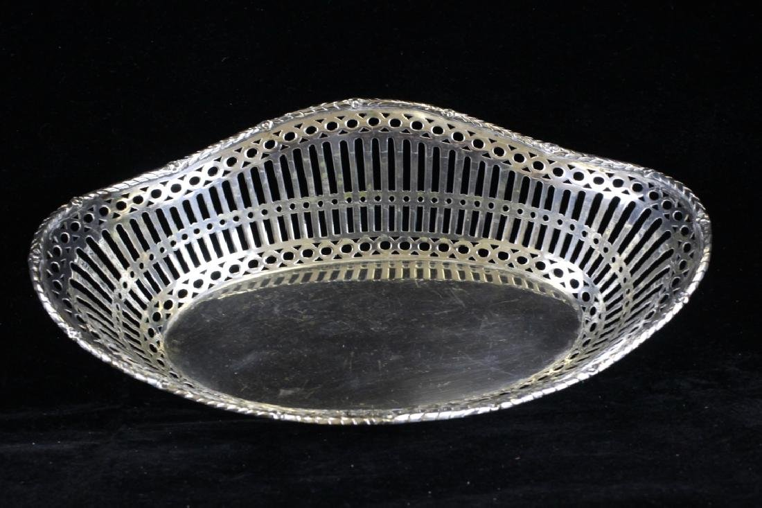 Reticulated German Silver Bowl By Posen - 3