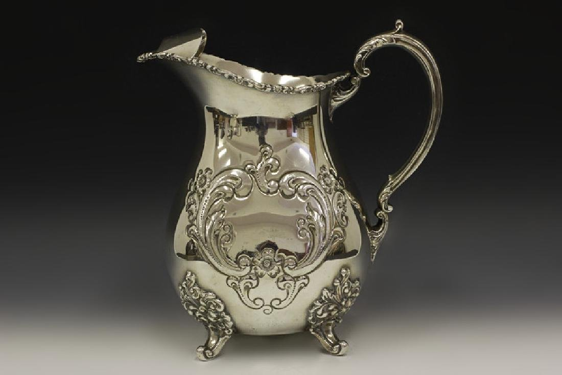 Sterling Silver Pitcher By Poole