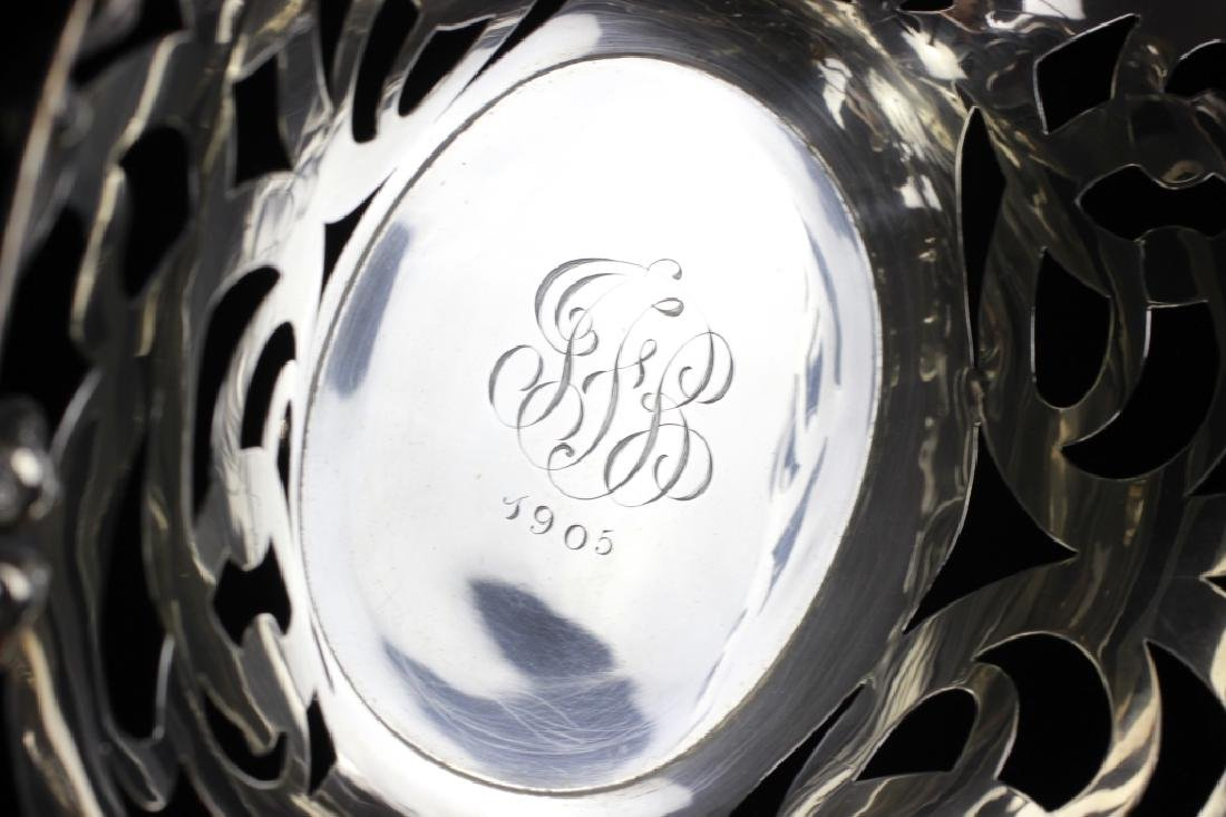 Sterling Silver Art Nouveau Basket - 4