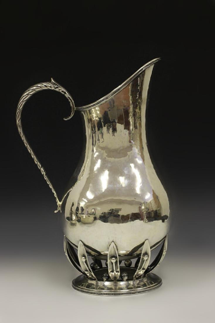 Art Deco Sterling Silver Pitcher