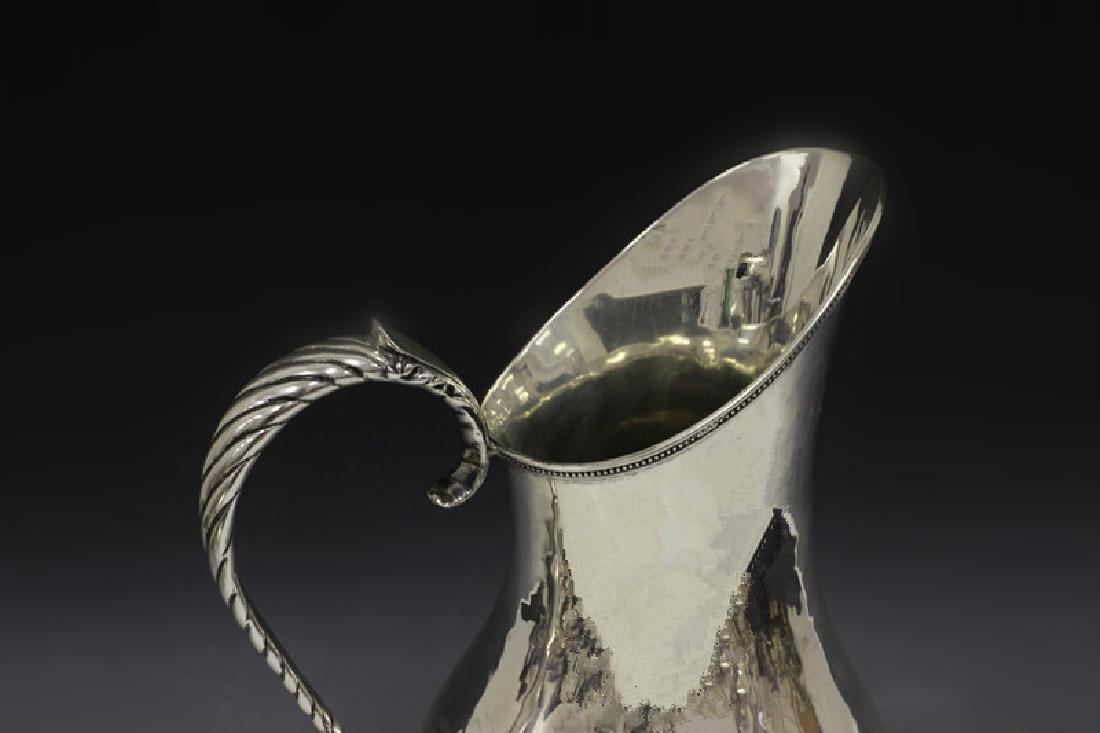 Art Deco Sterling Silver Pitcher - 6