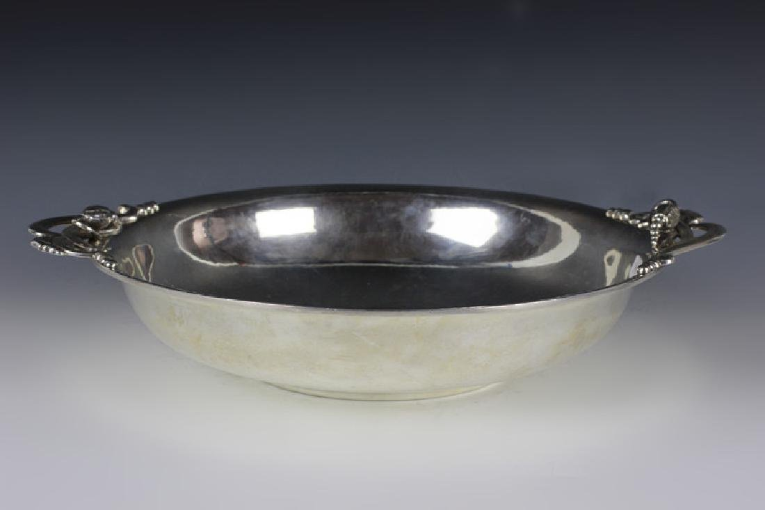 Sterling Silver Art Deco Style Bowl