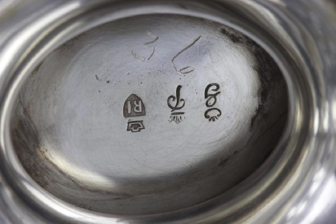 German Sterling Silver Basket W/ Glass Insert - 2