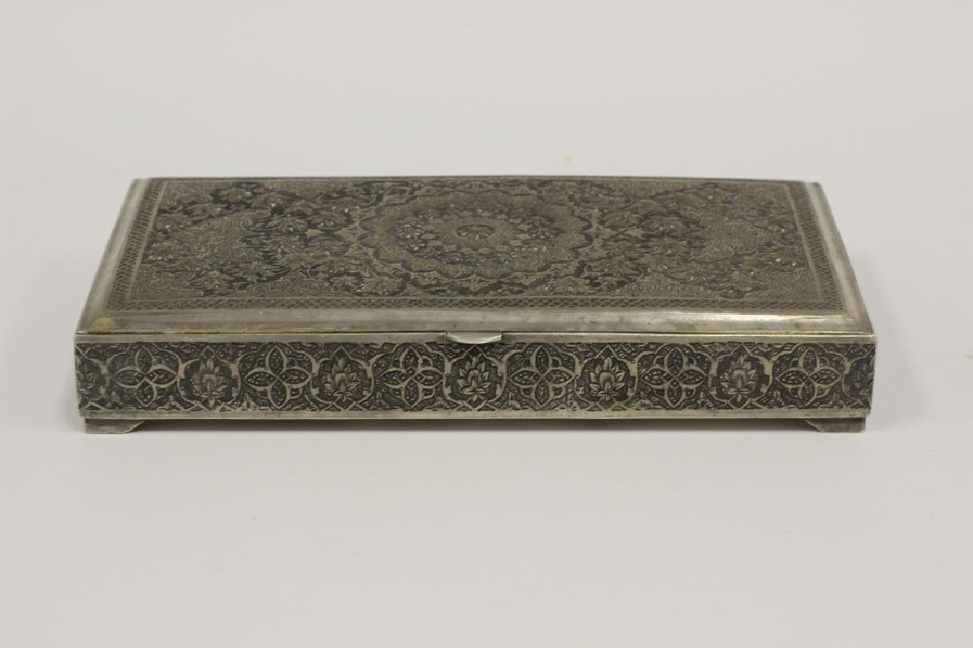 Old Persian Silver Box, By Vartan