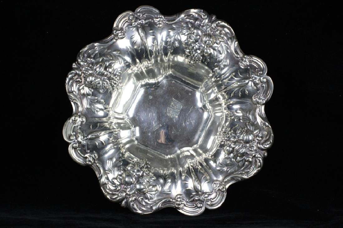 Large Sterling Silver Francis The 1st Bowl
