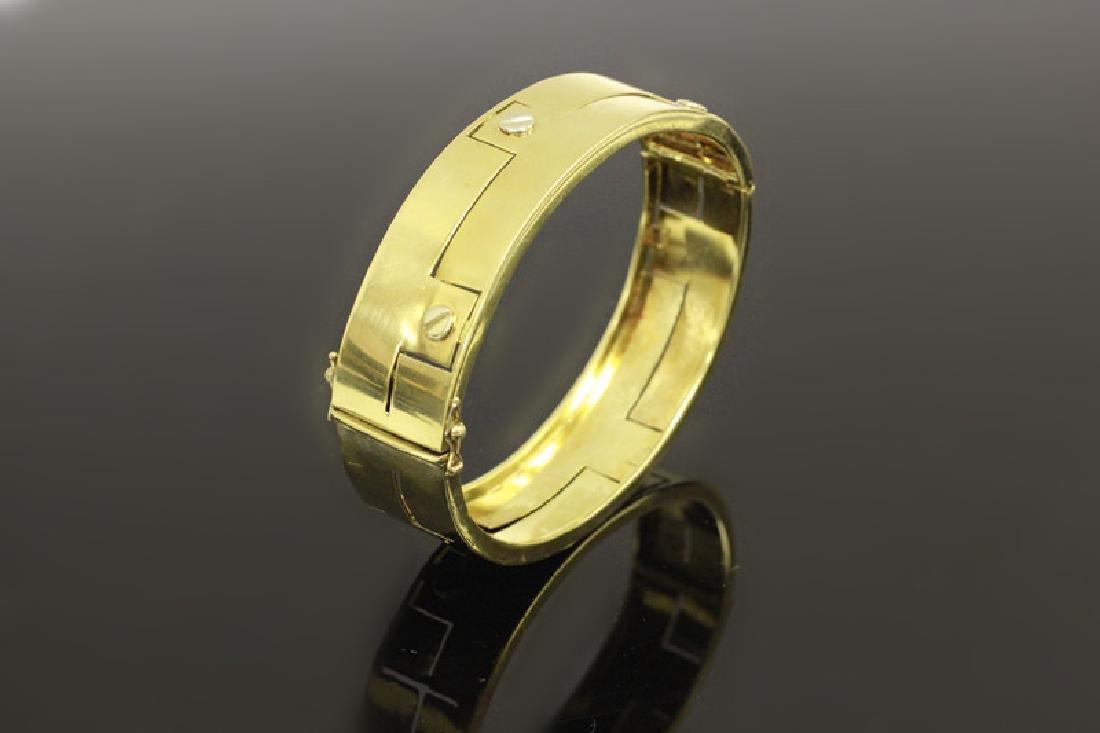 14k Gold Gold Bangle Bracelet