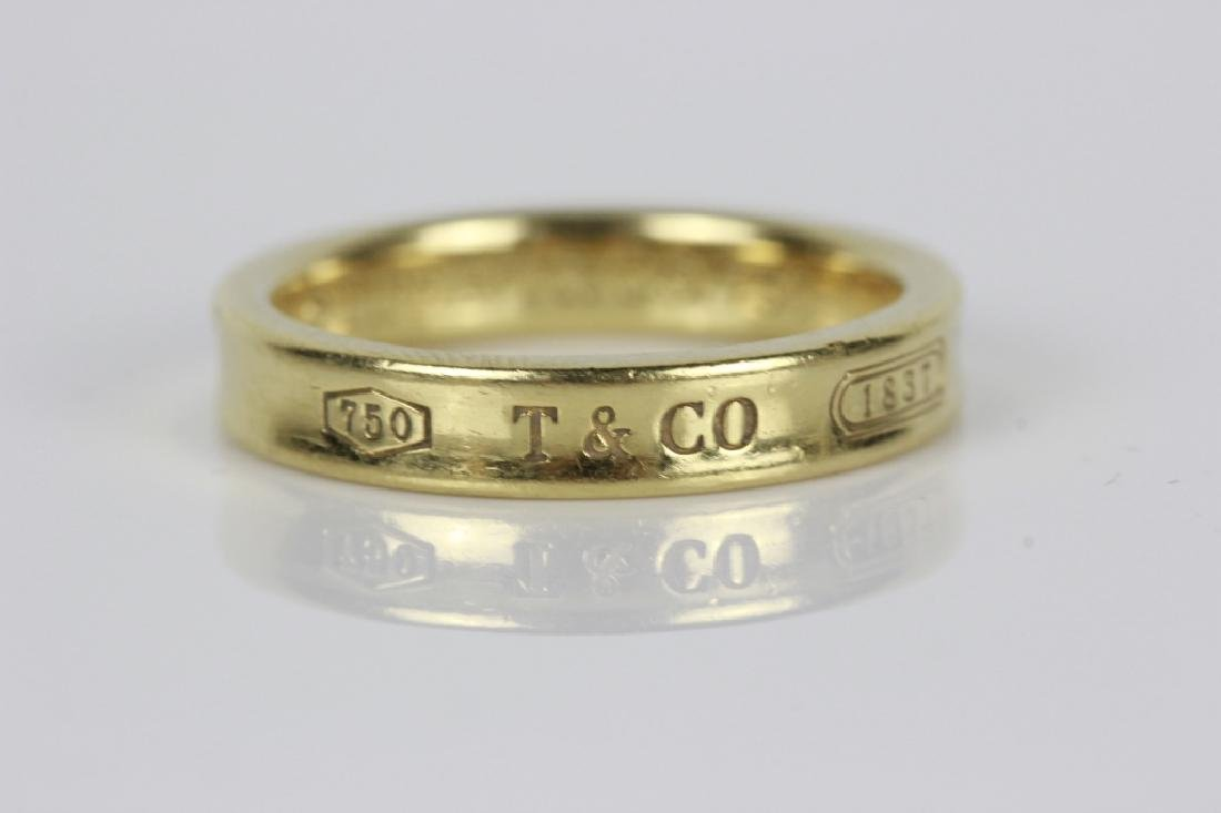 Tiffany & Co. 18k Gold Ring