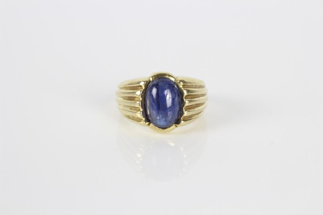 14k Gold & Sapphire Ring