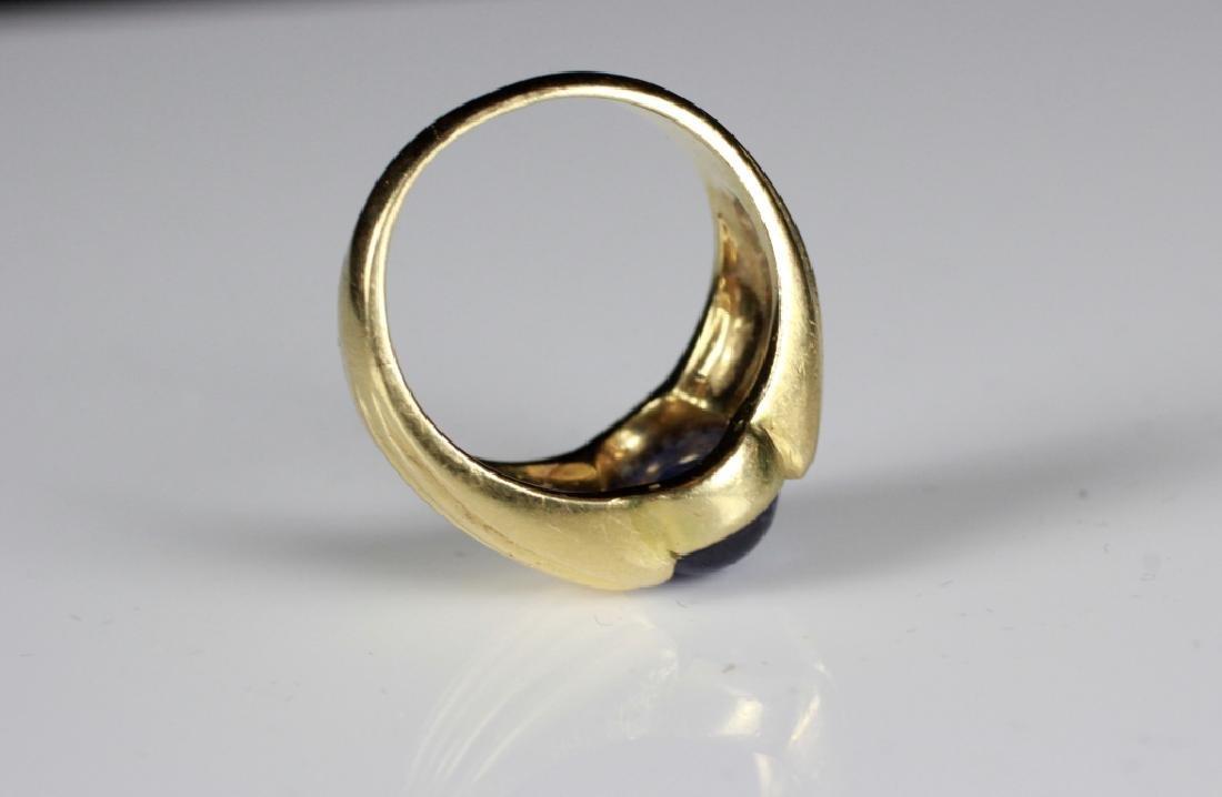 14k Gold & Sapphire Ring - 2
