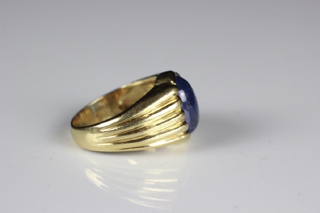 14k Gold & Sapphire Ring - 3