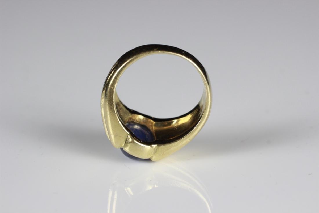 14k Gold & Sapphire Ring - 5