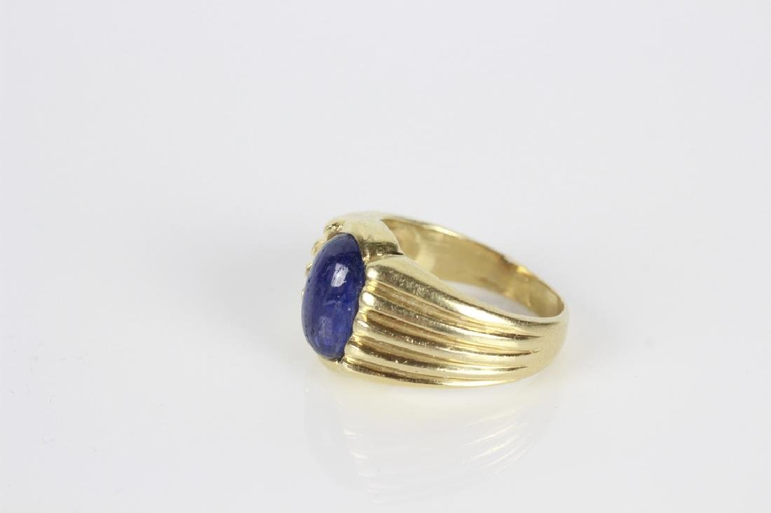 14k Gold & Sapphire Ring - 7