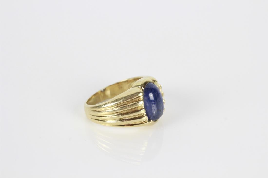 14k Gold & Sapphire Ring - 8