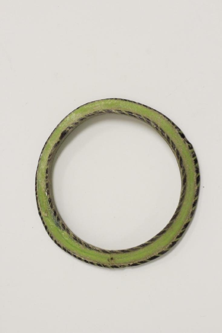 Roman Green Glass Bracelet 2nd To 5th Century AD