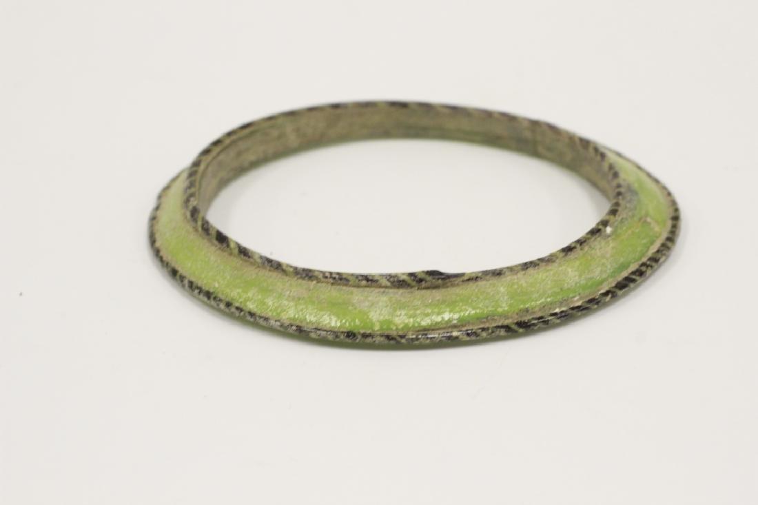 Roman Green Glass Bracelet 2nd To 5th Century AD - 2