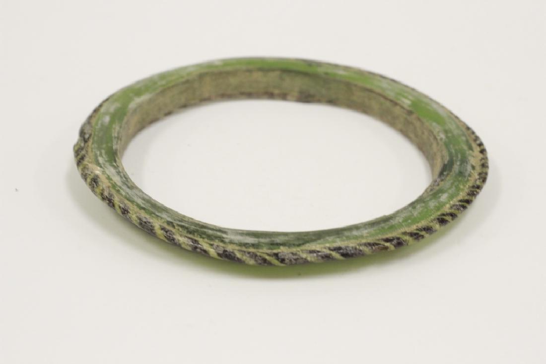 Roman Green Glass Bracelet 2nd To 5th Century AD - 3