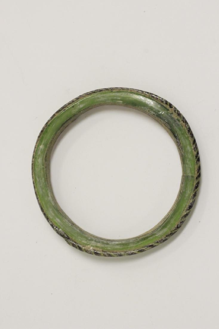 Roman Green Glass Bracelet 2nd To 5th Century AD - 4