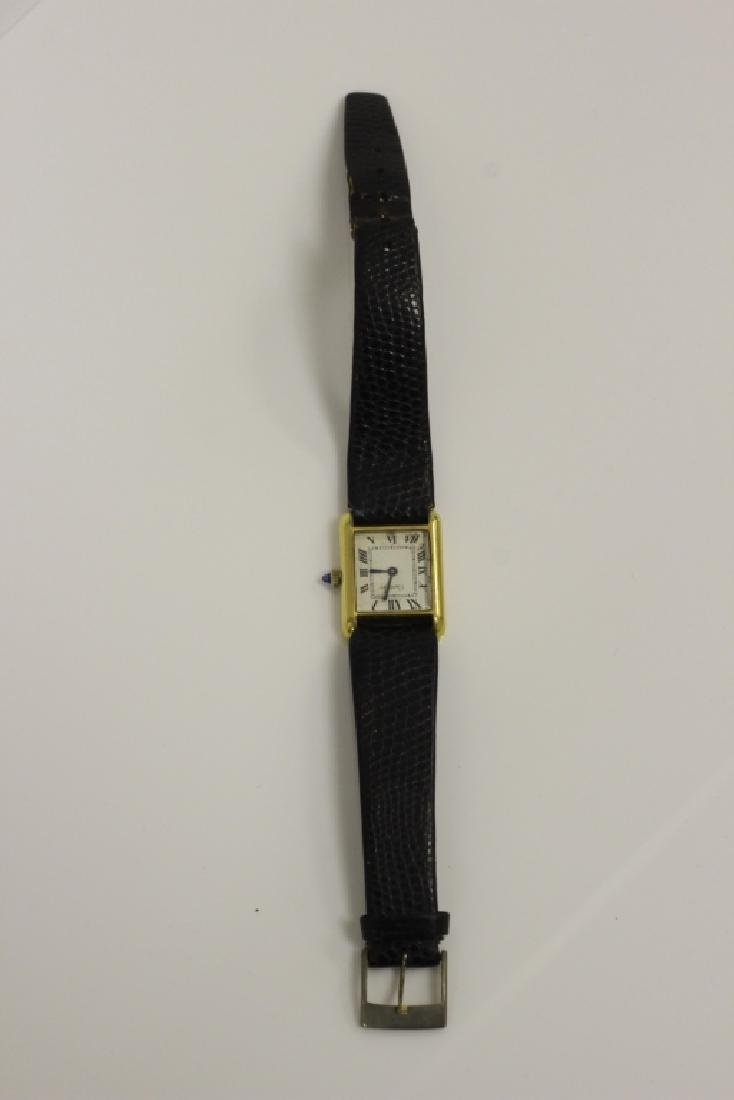 Cartier Vintage Ladies Tank Watch