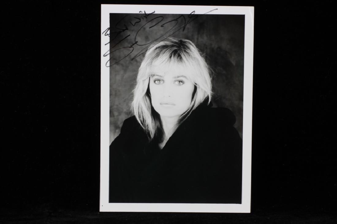 Group of 10 Autographs, Raquel Welch, Etc. - 2